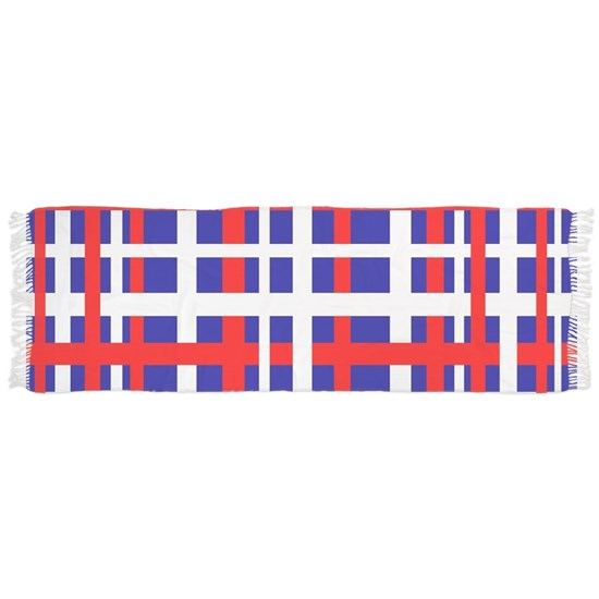 Patriotic Interlocking Stripes